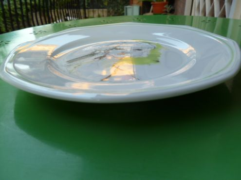 Piatto in porcellana Schonwald Le 4 stagioni di E. Treccani - Foto 4