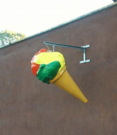 Insegna a bandiera gelato o pizza a PADOVA - Foto 5