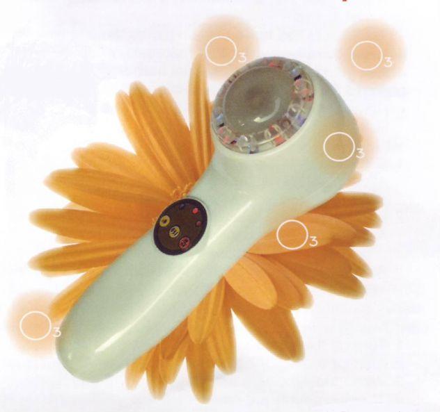 ozono beauty skin ozonizzatore peeling esfolia pelle con laser led sterilizza