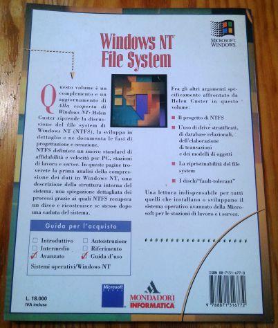 WINDOWS NT - 2 TESTI DI RIFERIMENTO VINTAGE ANNI 90 - Foto 4