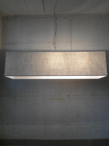 lampadario rettangolare in tessuto tutte le misure - Foto 3