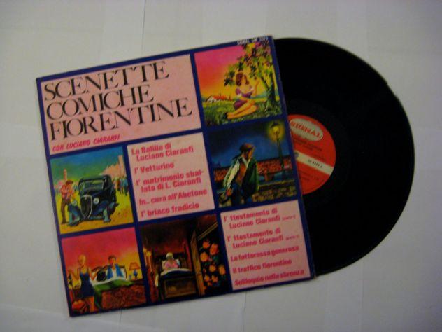 Vinile 33 giri originale del 1970-Scenette comiche fiorentine