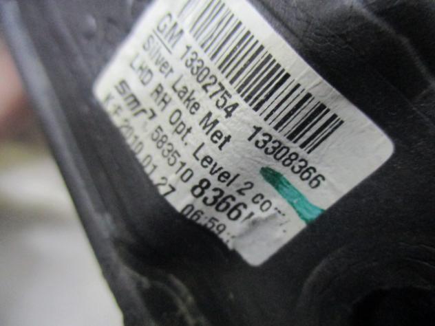 OPEL ASTRA 1.4 B 6M 103KW (2010) RICAMBIO SPECCHIETTO RETROVISORE LATO DEST … - Foto 2
