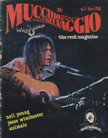 Il Mucchio Selvaggio, n. 1 (ottobre 1977)