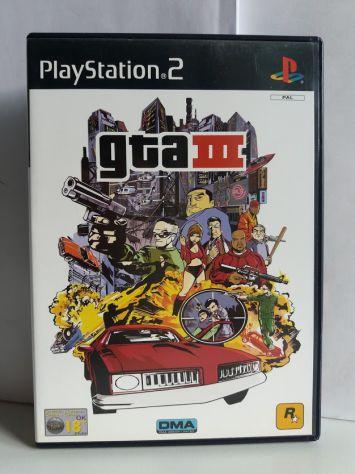 Gta iii 3 (ps2) - videogioco