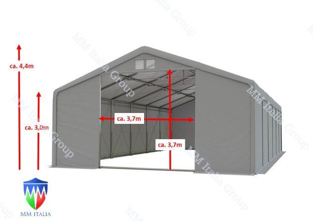 Tendoni 8 x 12 linea Impero qualitá Estrema per feste magazzino deposito - Foto 10