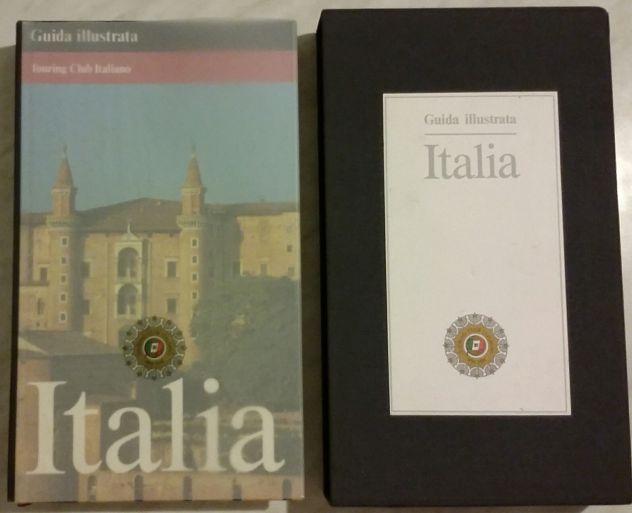 GUIDA ILLUSTRATA ITALIA PREFAZIONE FOLCO QUILICI T.C.I.1991 IN COFANETTO NUOVO