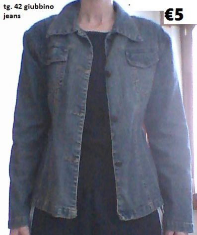 Giubbotto jeans tg. 42