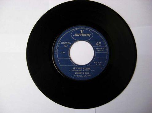45 giri del 1970-Aphrodite 's Child-It 's five o 'clock - Foto 2