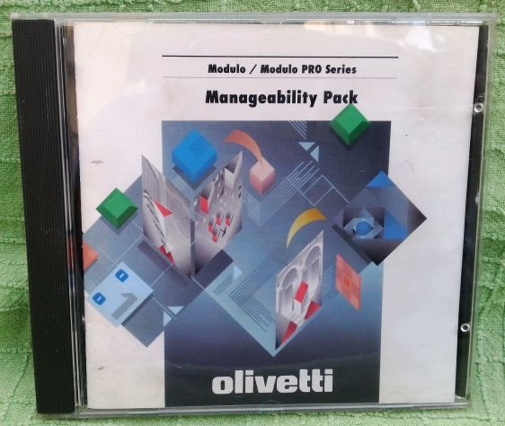 OLIVETTI MANAGEABILITY PACK SW VINTAGE ANNI 90