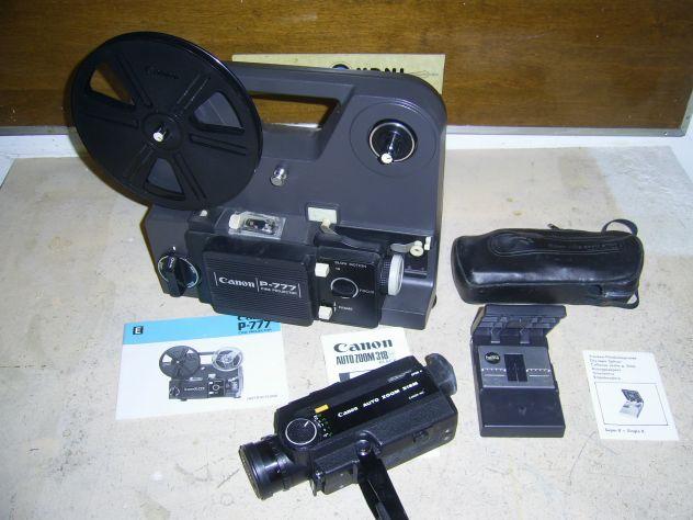 Proiettore e Cinepresa super 8 Canon.