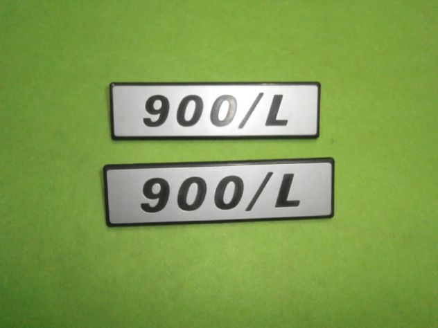 Scritte laterali Fiat 127 900L loghi targhette NUOVE - Foto 2