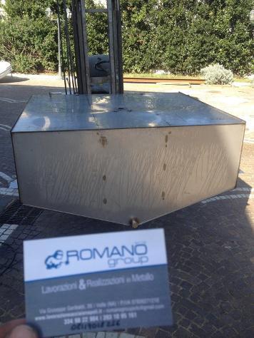 Allestimento camion in acciaio inox Nuovo Euro 1 - Foto 2