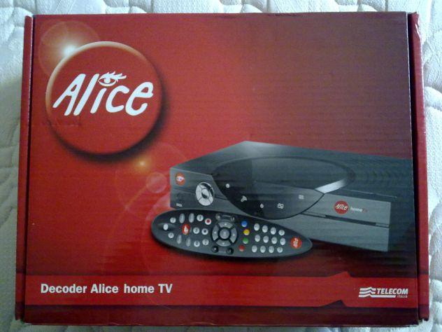 Decoder Alice Home tv