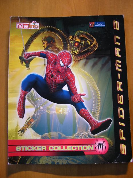 Album figurine spider-man 2