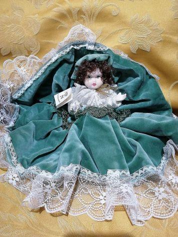 Bambola Porcellana Capodimonte Vintage