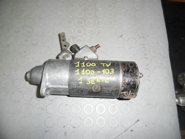 Motorino avviamento fiat 1100-TV e 1100-103 prime serie