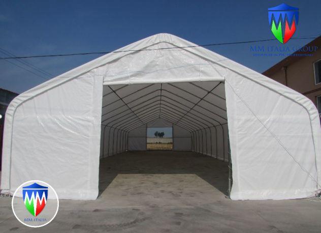 Tunnel Tendoni Professionli 8 x 18 x 4,40 Pvc Ignifugo MM Italia - Foto 7