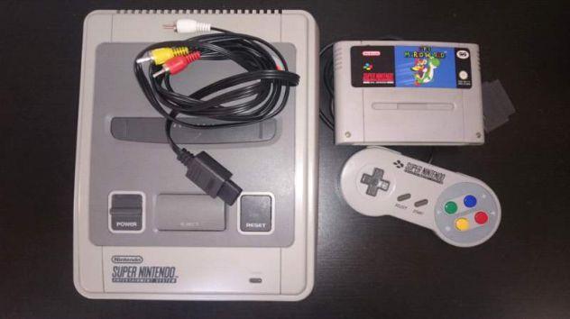 Snes super Nintendo console 90's Pal