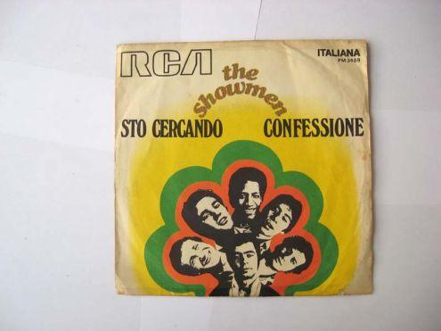 45 giri del 1969-THE SHOWMEN-Sto cercando