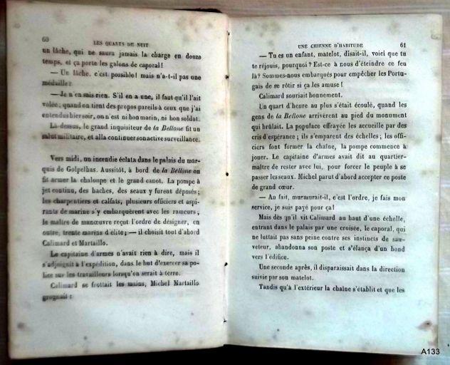 G. DE LA LANDELLE 1872: QUARTS DE NUIT. - Foto 3