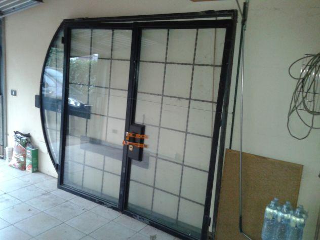 Portone ferro-vetro doppio a 2 ante - Foto 2