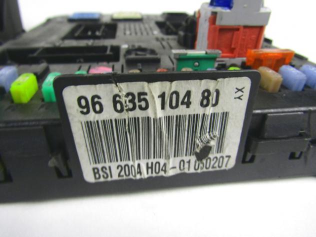 9663885680 KIT ACCENSIONE AVVIAMENTO CITROEN C5 SW 2.0 100KW 5P D 6M (2007) … - Foto 3