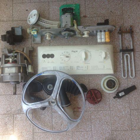 Ricambi usati per lavatrice Rex
