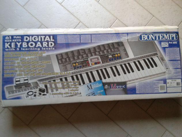 Tastiera digitale Bontempi