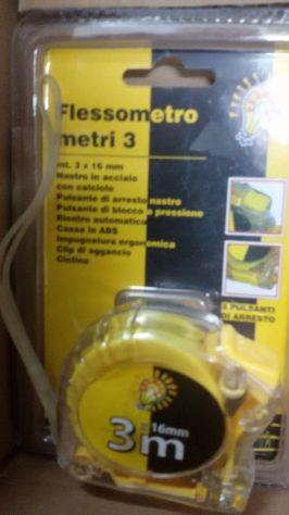 FLESSOMETRO PROFESSIONALE 3 MT