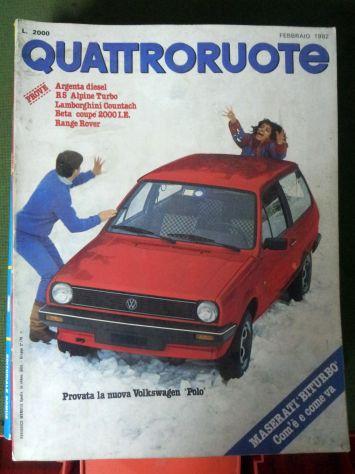 Riviste QuattroRuote 1980 - 81 - 82 - 83 - 84 - 86 - Foto 4