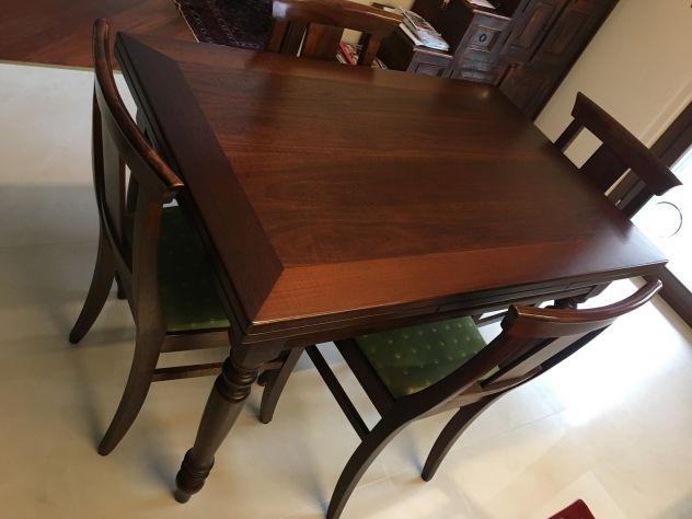 Offro tavolo allungabile in legno massiccio - Foto 4