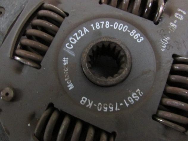 2S61-7550-KB FRIZIONE FORD KA 1.3 51KW 3P B 5M (2003) RICAMBIO USATO - Foto 2
