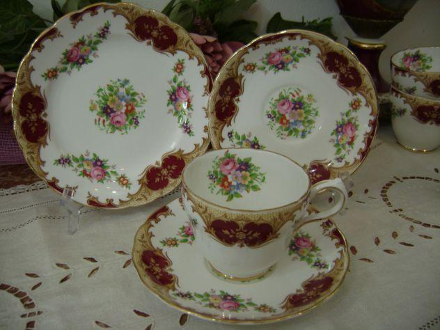 Tazze tea in porcellana inglese