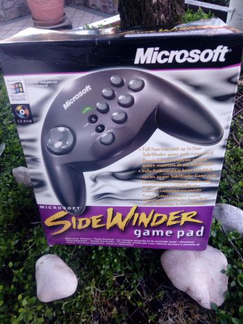 JOYSTIK GAME POD SIDEWINDER di Microsoft