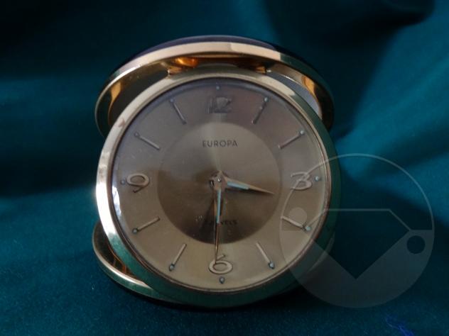 Orologio da viaggio EUROPA 7 Jewels, Vintage
