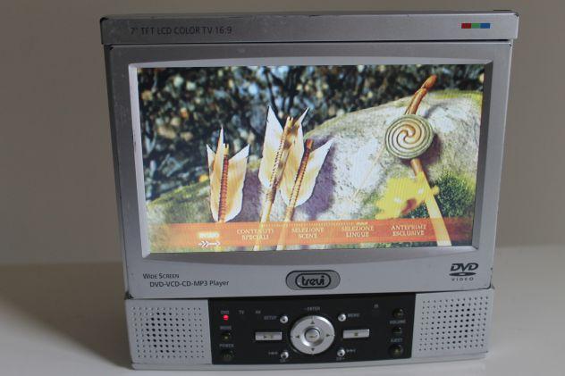 TV LCD - Lettore DVD - Trevi modello DTV 1007