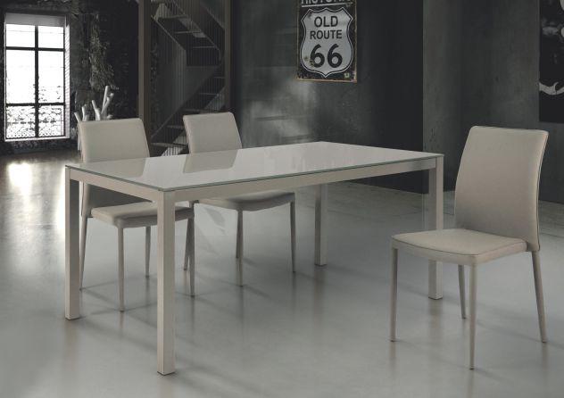 Tavolo Con Piano In Vetro.Tavolo Con Piano In Vetro Struttura In Metallo Cod Annunci Firenze