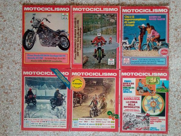 Motociclismo riviste anni 70 e 80