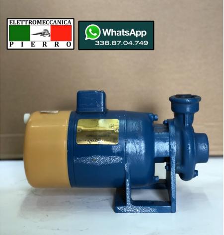 Elettropompa centrifuga autoadescante MARELLI V230 Hp0,8 litri 70min Bar max 3,5