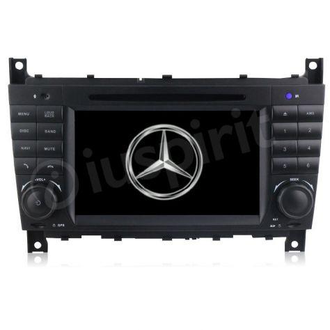 Autoradio 2DIN navigatore Mercedes W203 W209 W203 W407 W467 C200 C220