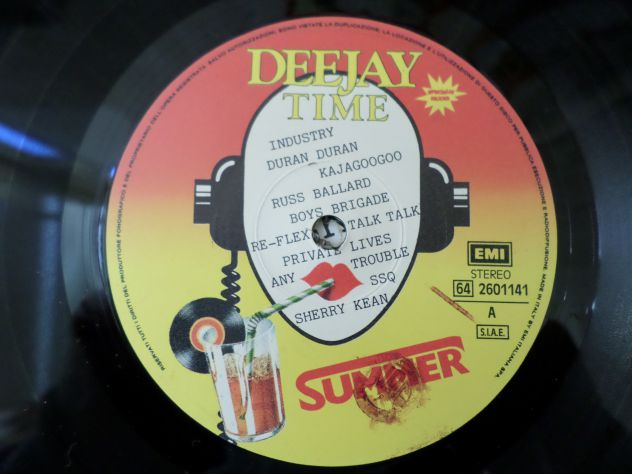 DEE JAY TIME - Summer Mixed Compilation - LP / 33 giri 1984 - Foto 3