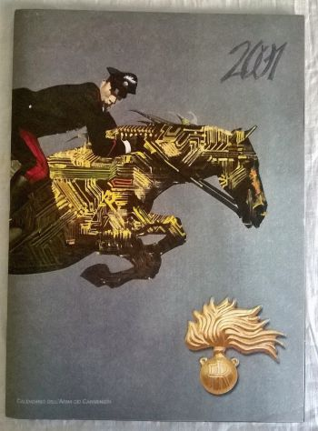 ( G&B ) Calendari: Arma dei Carabinieri 2001