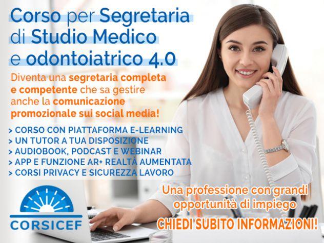 Corso per Segretaria di Studio Medico e Odontoiatrico 4.0