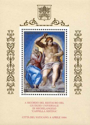 Francobolli nuovi annata 1994 Vaticano