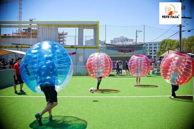 affitto noleggio bubble football o bubble soccer  Roma - Foto 3