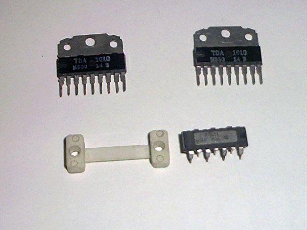 TDA 2010 e 2 TDA 1010, amplificatori audio