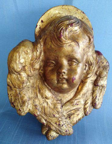 Angioletto,Scultura in legno