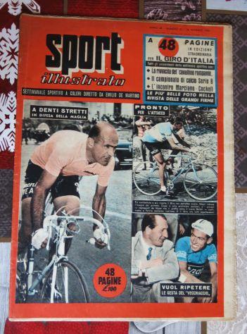 SPORT ILLUSTRATO 26-6-1955 - CICLISMO GIRO D'ITALIA - CALCIO JUGOSLAVIA ITALIA -