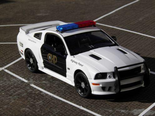 Modellino SHELBY MUSTANG GT500 KR POLICE